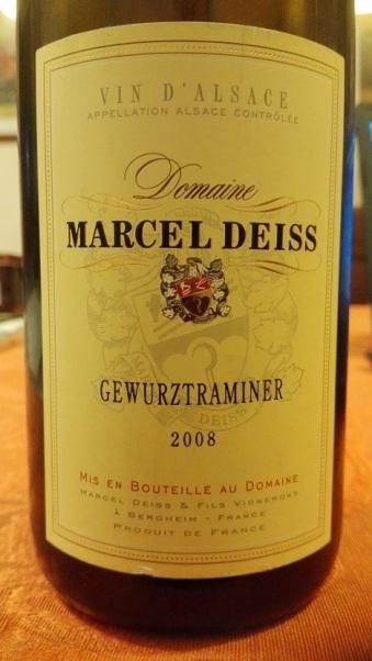 Marcel Deiss - Gewurztraminer 2008
